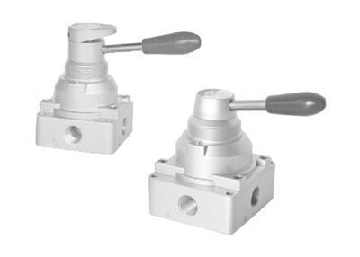4HV、4HVL系列手轉閥(四口二位、四口三位)